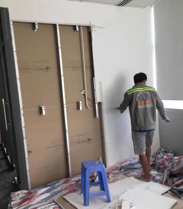 Các công đoạn chủ yếu trong quá trình sửa nhà