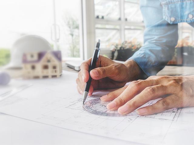 Hình ảnh minh họa khi thiết kế kiến trúc