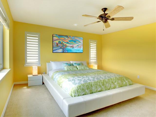 Màu sắc phù hợp với phòng ngủ mệnh Thổ