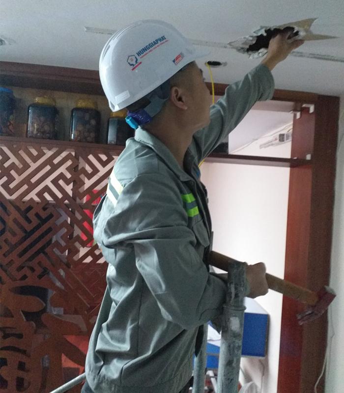 Sửa chữa hệ thống điện nước