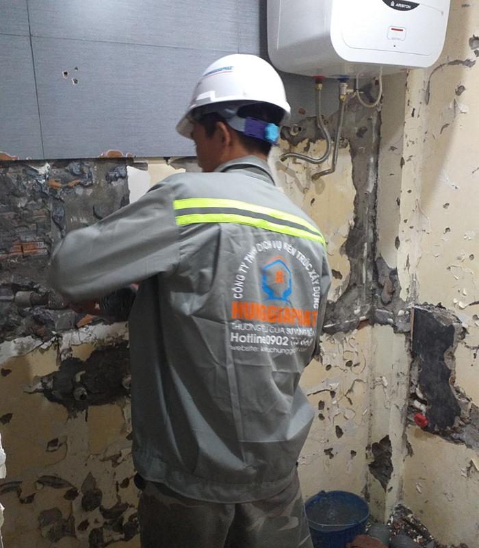 Báo giá thi công các hạng mục sửa chữa nhà Hóc Môn 2020