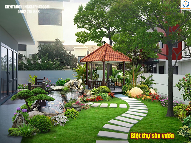 biệt thự sân vườn là gì
