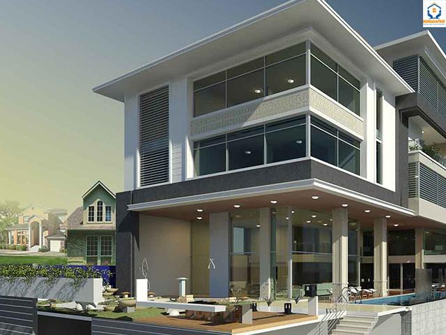 Cách tính chi phí xây dựng nhà phố 2 tầng hiệu quả nhất