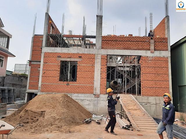 Cách tính chi phí nhận công được áp dụng rộng rãi trong xây dựng