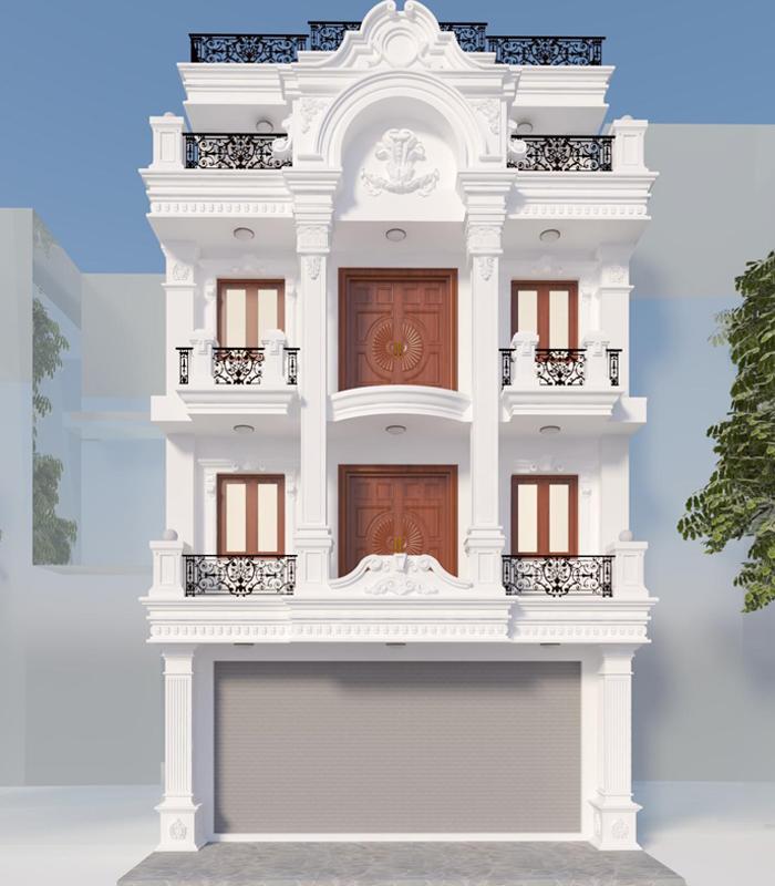 Hình ảnh mô hình xây biệt thự