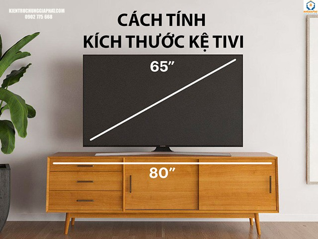 Lựa chọn kệ tivi