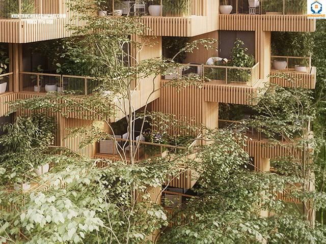 Lợi ích của kiến trúc bền vững