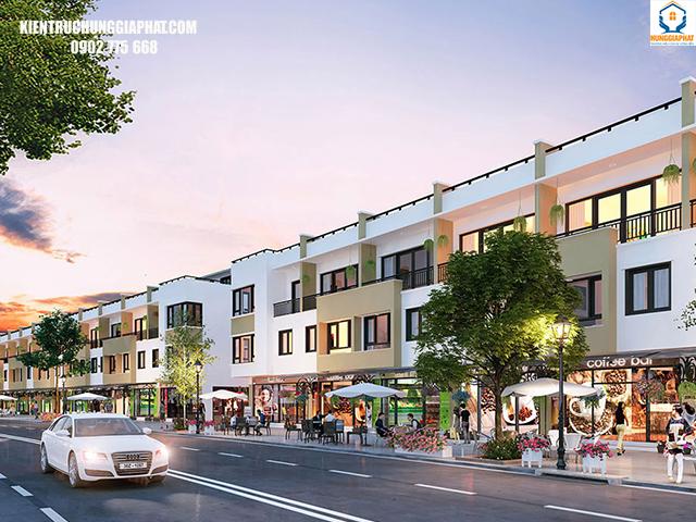 so sánh nhà phố thương mại với nhà mặt phố