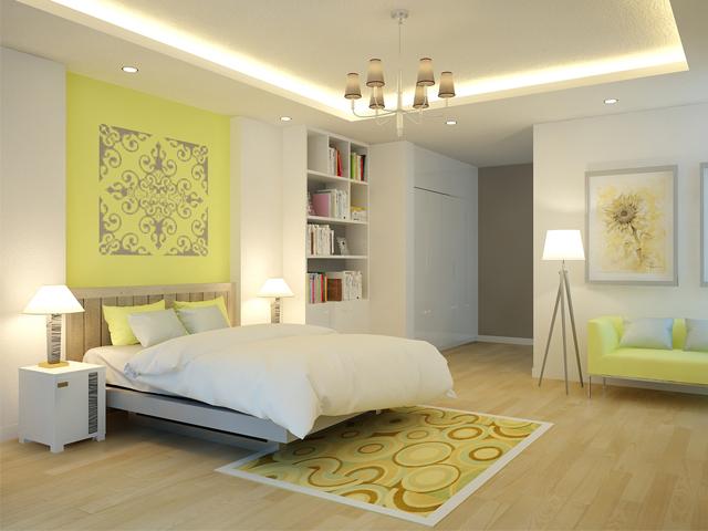 Màu sắc phong thủy cho phòng ngủ người mệnh Kim