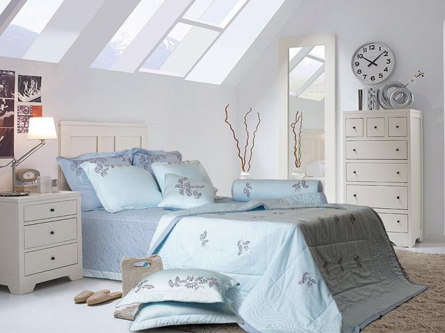 Màu sắc của căn phòng ngủ của người mệnh Thủy