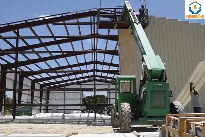 quy trình thi công xây dựng công trình