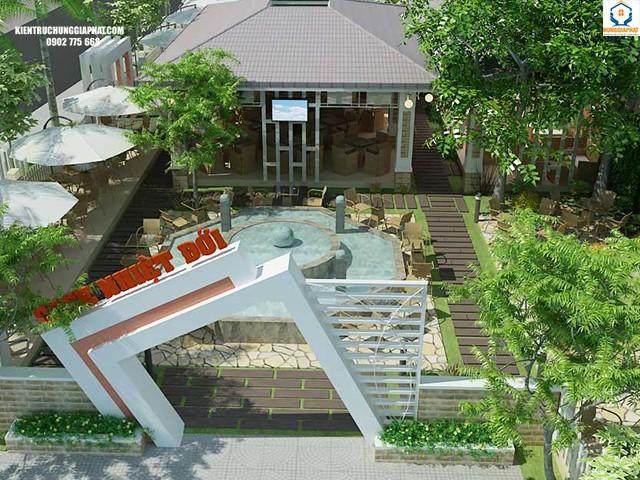 Lợi ích khi thiết kế sân vườn cho nhà ống