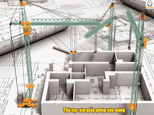 thủ tục xin cấp giấy phép xây dựng